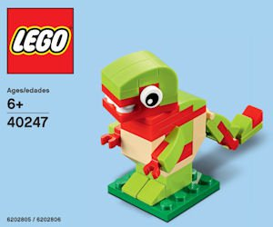 Free LEGO Dinosaur Minibuild on September 5-6, 2017