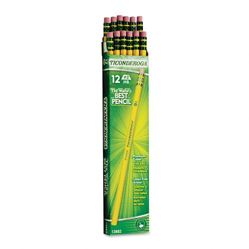 *HOT* Get Dixon Ticonderoga Wood-Cased Pencils (Box of 12) for only $1.99!
