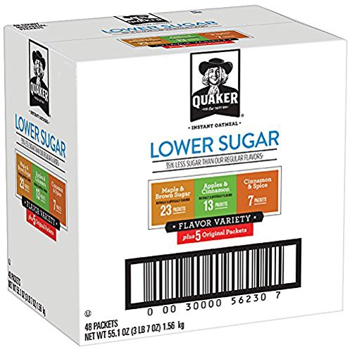 Amazon.com: Quaker Instant Oatmeal, Variety Pack (48 Count) just $9.11 shipped!