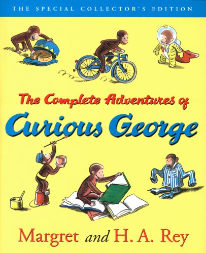 Get The Complete Adventures of Curious George eBook for only $3.99!