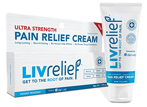 Free LivRelief Pain Relief Cream Sample