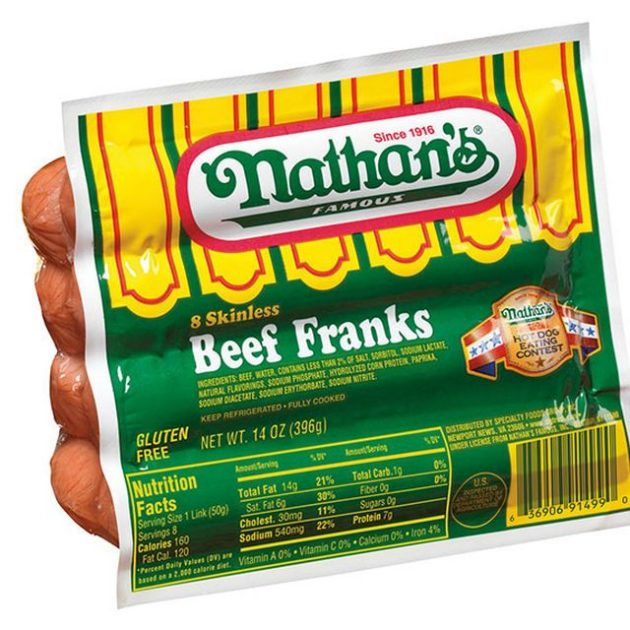 Target: Nathan's Famous Hot Dogs just $2.62!