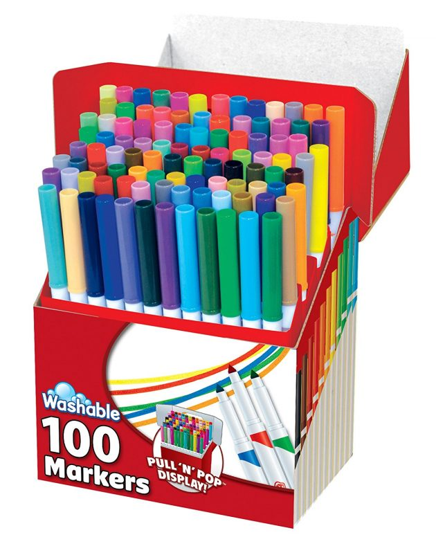 Amazon: RoseArt Washable Markers 100-Pack just $10.80!