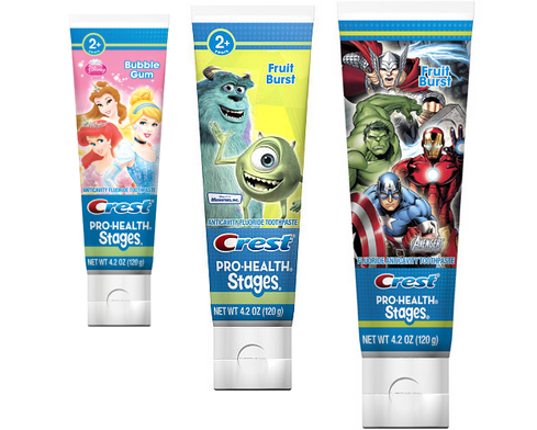 Target: Better than FREE Kids' Crest Toothpaste!