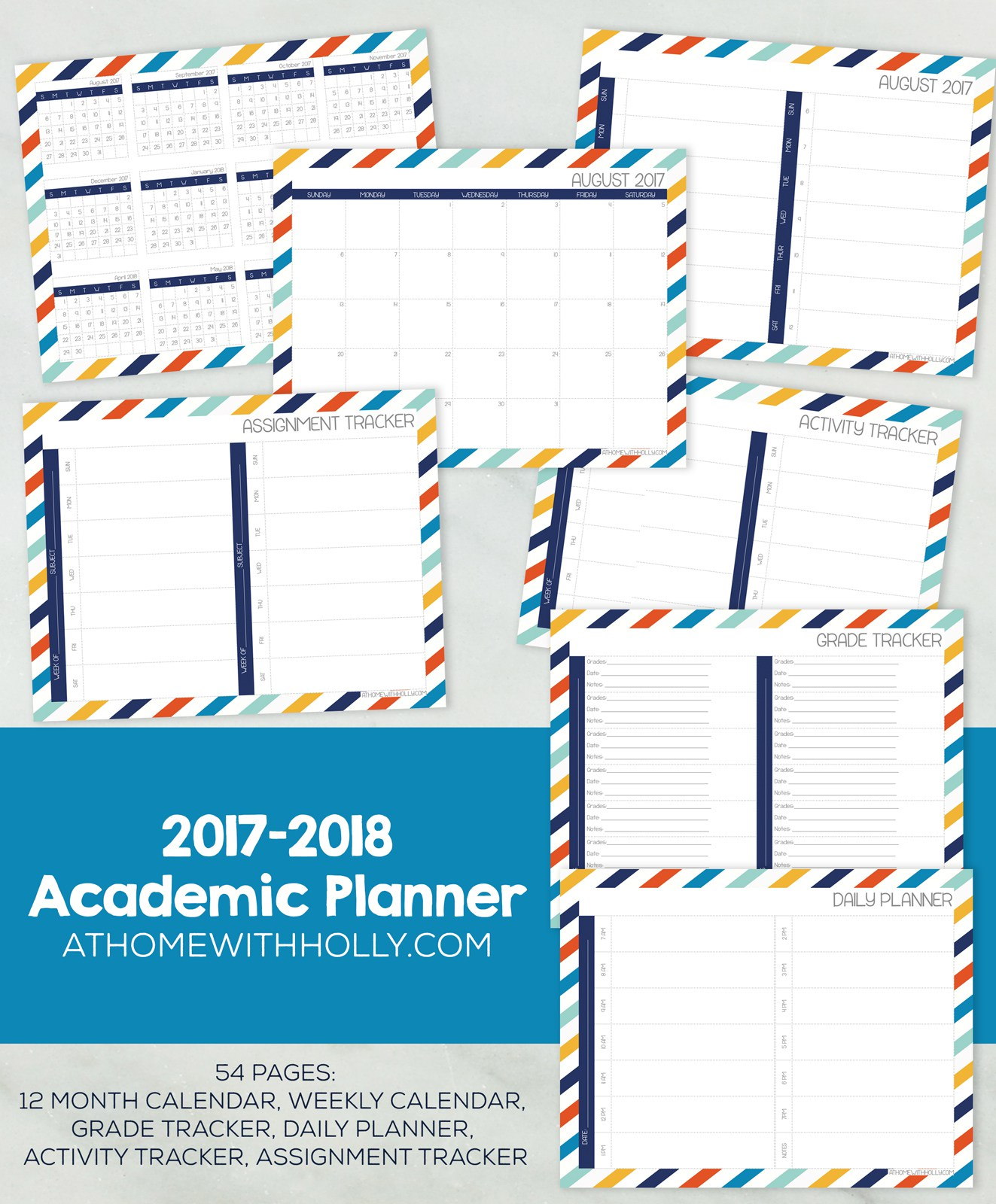 picture about Free Printable Student Planner named No cost Printable Scholar Educational Planner Economical Preserving Mother