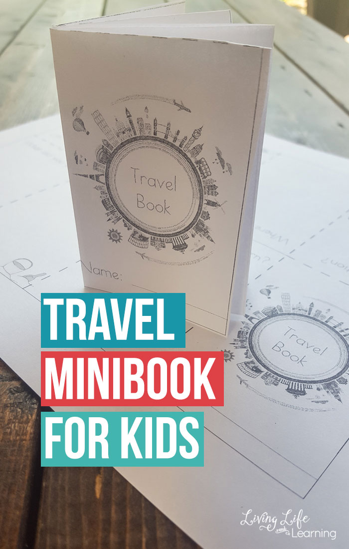 Free Printable Travel Mini Book for Kids