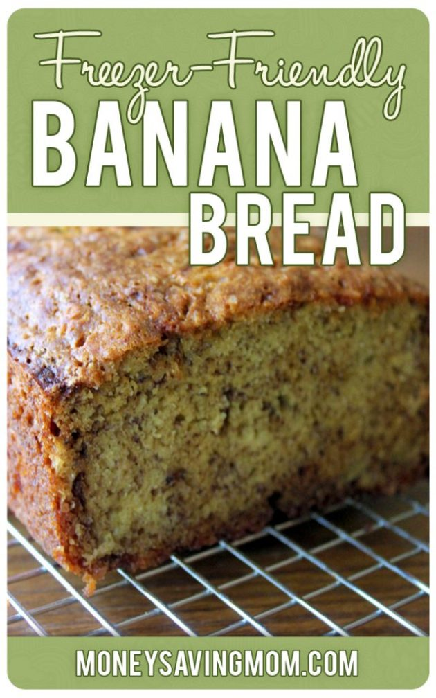 13 easy homemade bread recipes freezer budget friendly Better homes and gardens banana bread recipe