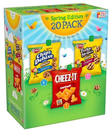 Amazon.com: Keebler Cookie and Cheez-It Variety Pack (20-Count) only $6.38 shipped!