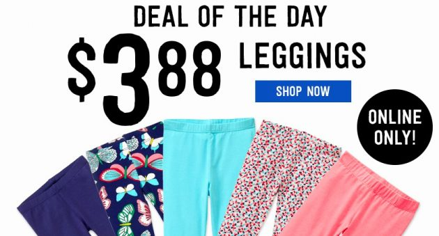 Crazy 8: Get Girl's Leggings for just $3.88 + Free Shipping!