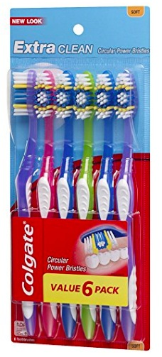 Amazon.com: Colgate Extra Clean Toothbrush, Soft (6 count) just $3.76 shipped!