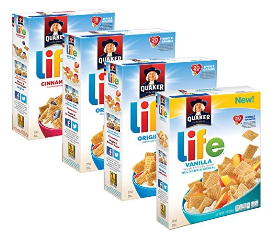Amazon.com: Quaker Life Cereal for just $1.90 per box, shipped!