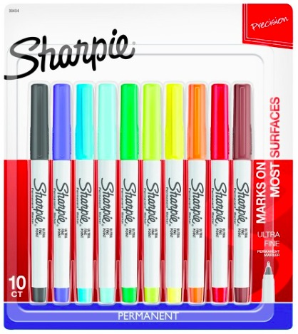 Target.com: Sharpie Permanent Marker, 10 count just $5!