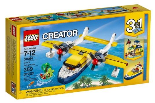 Amazon.com: LEGO Creator Island Adventures just $23.99!