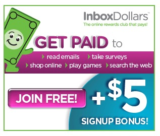 Inbox Dollars: Get paid to read emails, take surveys, search the web, and more!