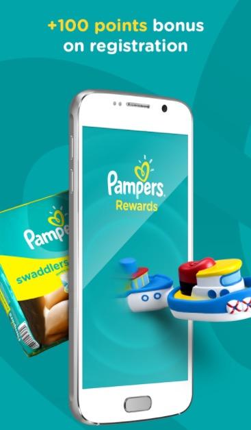 New Pampers Rewards App
