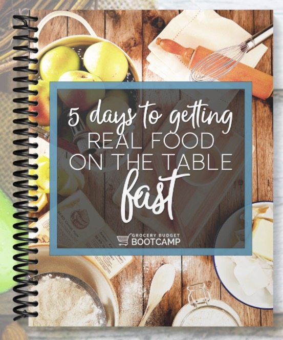 Free Challenge: 5 Days to Getting Real Food On The Table, Fast