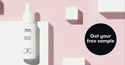 Free sample of REN Skincare Perfect Canvas