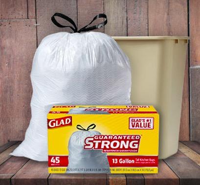 Walmart: Free Glad Kitchen Garbage Bags after rebate!