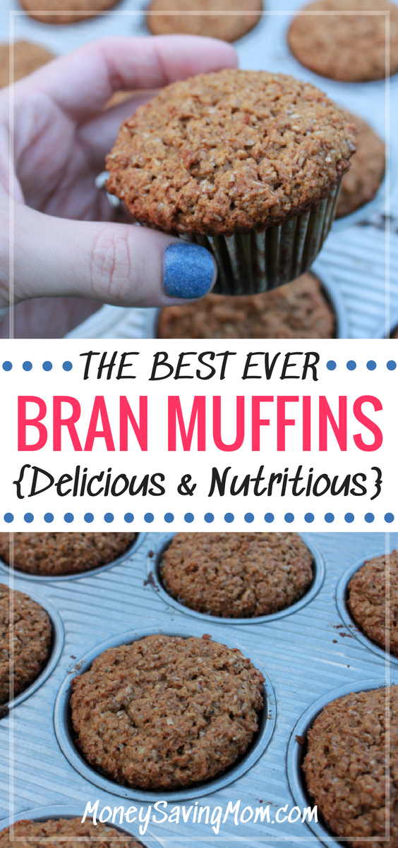 These are the BEST bran muffins of all time! They are SO delicious, packed with nutrition, and easy to make!