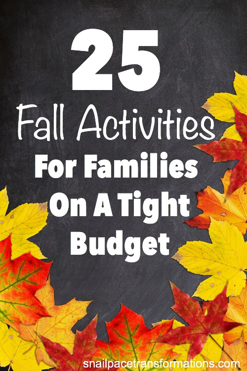 25 Fall Activities for Families on a Tight Budget