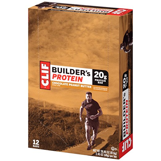 Amazon.com: Clif Builder's Chocolate Peanut Butter Protein Bar, 12 ct just $9.36!