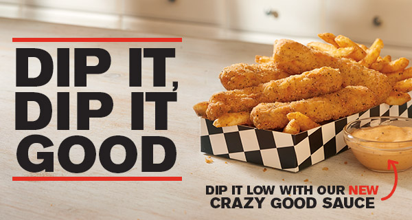 Rally's & Checkers: Free Chicken Dippers Box with Any Drink Purchase