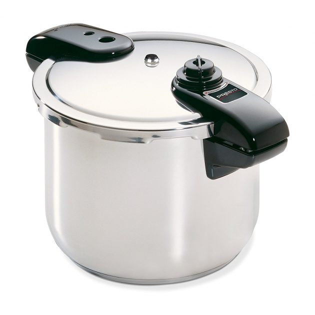 Amazon.com: Presto 8-Quart Stainless Steel Pressure Cooker just $44.10 shipped!