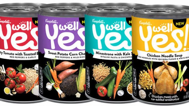 Target: Campbell's Well Yes! Soup only $0.94!