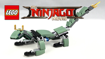 Barnes & Noble: Free LEGO Ninjago Movie Dragon Mini Model Build Event on October 7, 2017