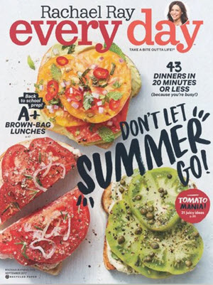 Two Free Issues of Rachael Ray Every Day Magazine