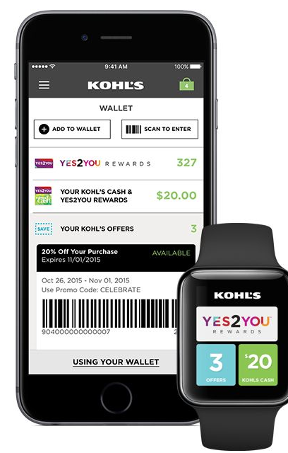 Kohl's: Possible free $10 credit for downloading app
