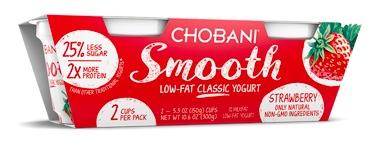 Walmart: Free Chobani Smooth Yogurts!