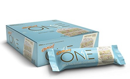Amazon Currently Has These One Bar Birthday Cake Protein Bars 12 Count For Just 1459 Shipped The Lowest Price On Record