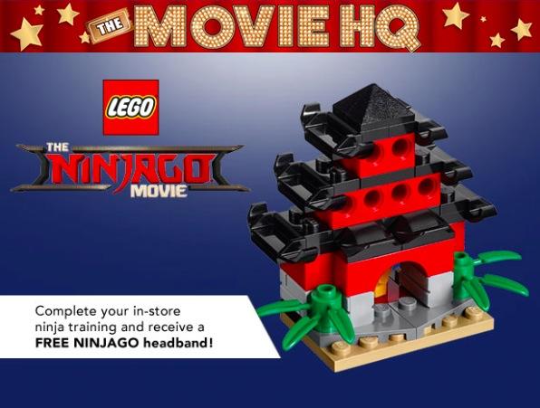Toys R Us Free Lego Ninjago Movie Event On September 23 2017