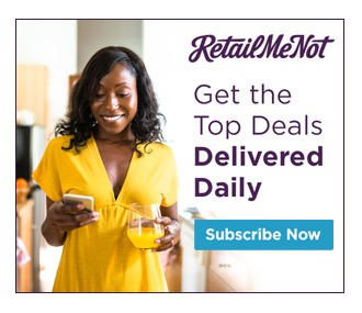 Retail Me Not: Get the best retail discounts and deals each day!