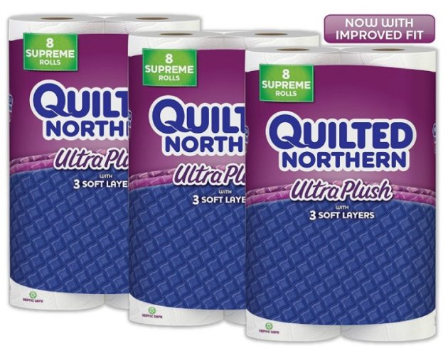 Amazon.com: Quilted Northern Ultra Plush Toilet Paper for just $0.19 per roll, shipped!
