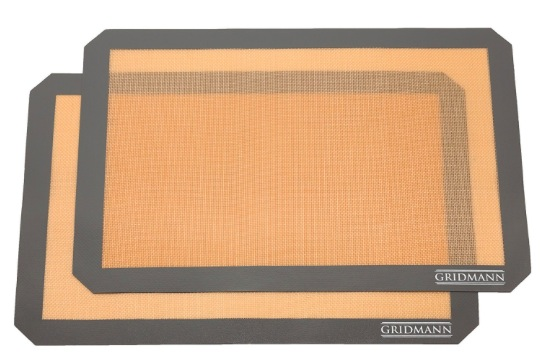 Amazon.com: Gridmann Silicone Baking Mats (2 pack) just $8.99!