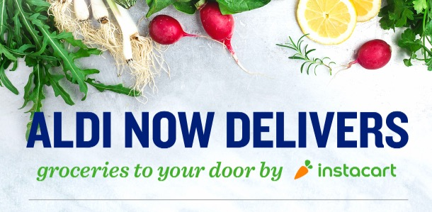 ALDI Delivery Service: Get $20 off your first order of $35!