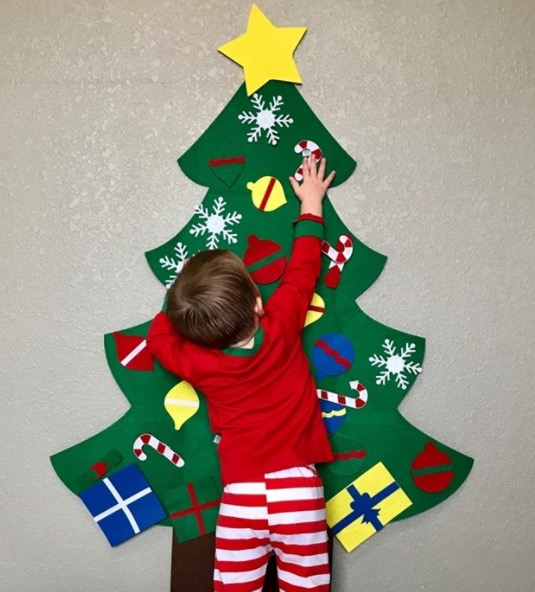 Kids' Decorative Felt Christmas Tree for just $19.99 + shipping!