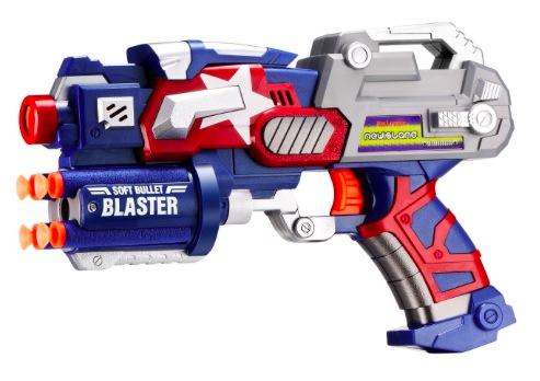 Amazon.com: Newisland Big League Blaster with Foam Darts and Dartboard only $8.99!