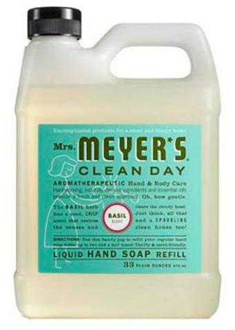 Amazon.com: Mrs. Meyers Liquid Hand Soap Refill only $6.64 shipped!