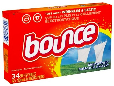 Walmart: Bounce Softener Sheets only $0.97!