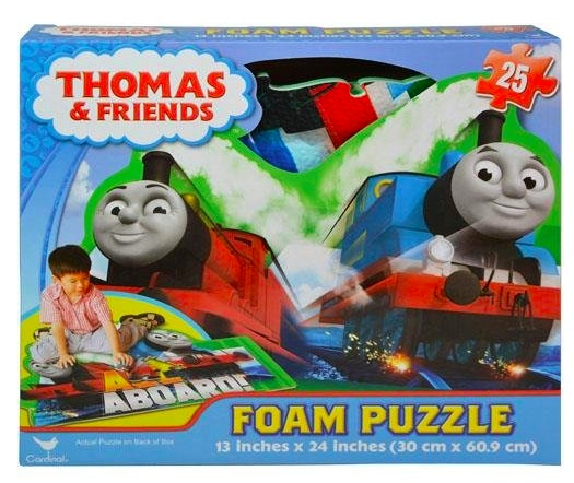 Amazon.com: Thomas And Friends Floor Foam Puzzle Mat (25 pieces) only $6!