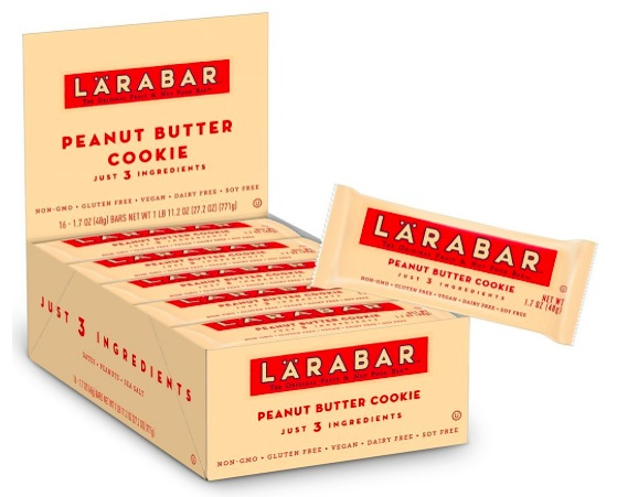 Amazon.com: Larabar Gluten Free Peanut Butter Cookie Bars (16 count) just $10.43 shipped!
