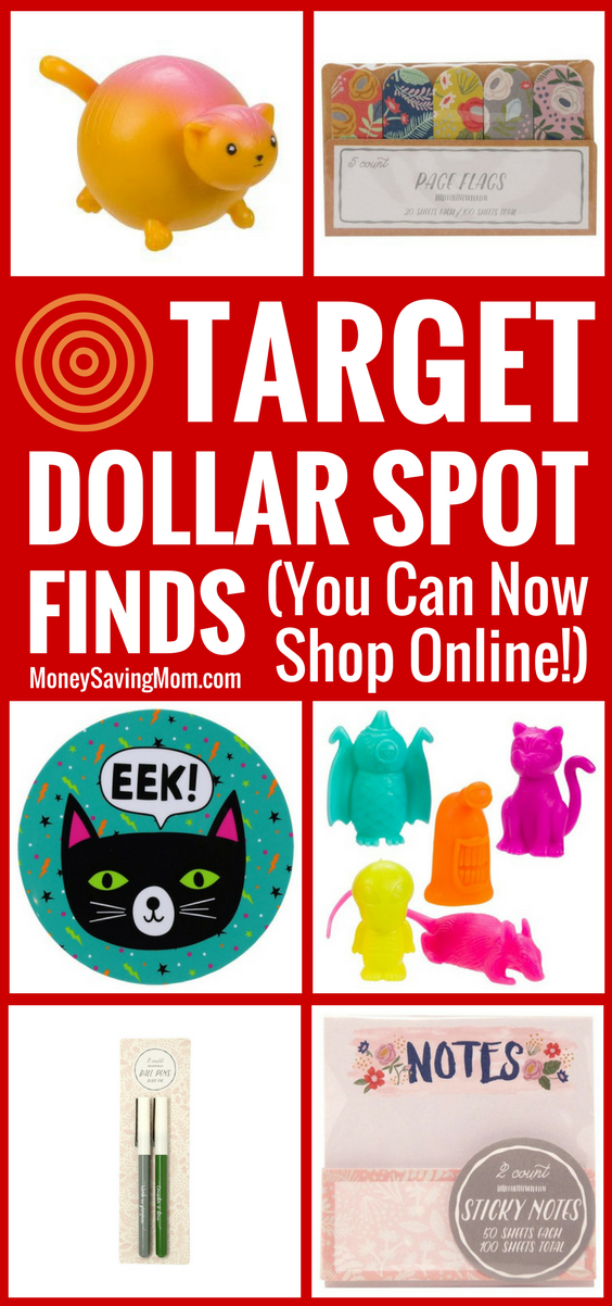 The popular Target Dollar Spot is now available to shop online! They have tons of FUN items to choose from at GREAT prices!!