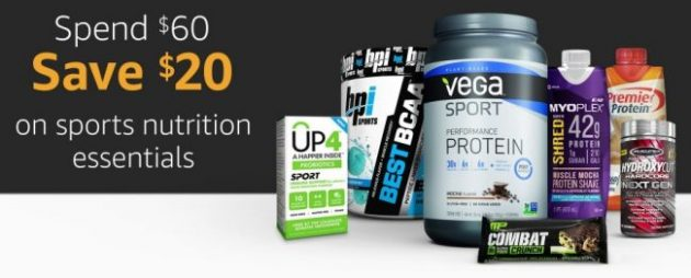 Amazon.com: Spend $60 and Save $20 off Sports Nutrition Essentials