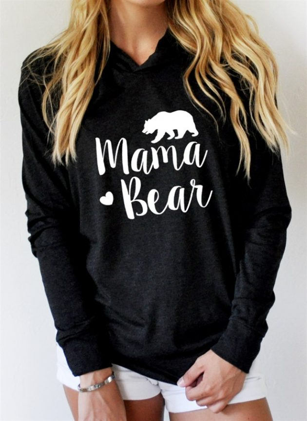 Get a Mama Bear Tee or Hoodie for as low as $13.99!