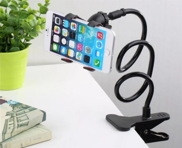 Get a Flexible Phone Holder With Clip for only $6.99!