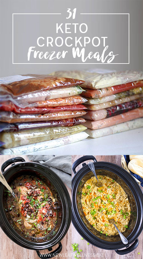 31 Keto Crockpot Freezer Meals