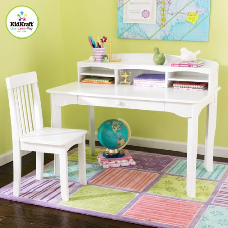 Walmart.com: KidKraft Avalon Desk Set With Hutch And Chair Just $89.50  Shipped!